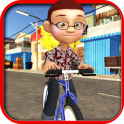 Kids Bicycle Rider:School Time