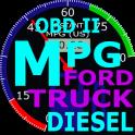 OBDII Ford Truck MPG (Diesel)