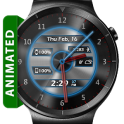 Metal Glow HD Watch Face Widget & Live Wallpaper