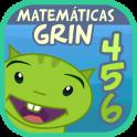 Matemáticas con Grin I 4,5,6 años primeros números