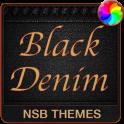 Black Denim Theme for Xperia