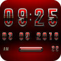 MAGNOLIA Digital Clock Widget