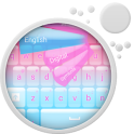 Rose Pink Girly Keyboard