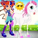 Little Pony & Equestrian Girl