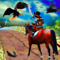 Temple Horse Run & Danger Birds Attack