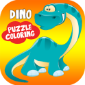 Kids Dinosaur Puzzles & Coloring Pages