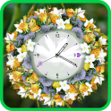 Flower Clock Wallpaper