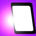 Bildschirm leuchte mehrfarben