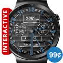 Polished Style HD Watch Face & Clock Widget
