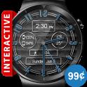 Polished Style HD Watch Face & Clock Widget