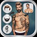 Man Hairstyle Tattoo Editor