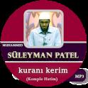 Muhammed Süleyman Patel kuranı kerim
