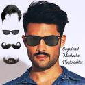 Men Mustache Beard Haircuts