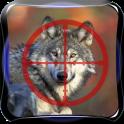 स्निपर वन्य वुल्फ हिरण शिकारी