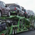 Autotransport Anhänger LKW 3d