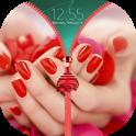 Romantic Zipper Lock Screen