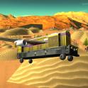 Desert Train Fly Simulator