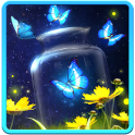 Shiny Butterfly Live Wallpaper