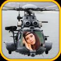 हेलीकाप्टर फोटो फ्रेम्स