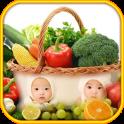 Fruit Vegetable photo frames