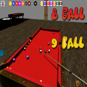 3D billiards 8 and 9 ball