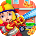 Firefighters Fire Rescue Kids