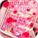 Rosa rosa teclado