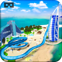 VR Beach Water Sliding