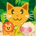 QCat - 유아 게임 : 동물 (무료)