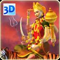 3D Durga Live Wallpaper