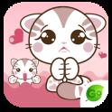 GO Keyboard Kitty Sticker