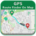GPS Route Finder On Map