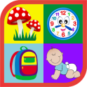 Object Learning Game for Kids (English)