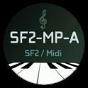 SoundFont-MidiPlayer (USB MIDI Low Latency)