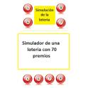 Simulación juego de la loteria
