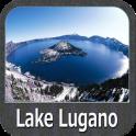 Lago di Lugano gps cartografía
