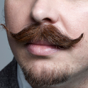 wallpaper mustache free