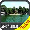 Lake Norman GPS Offline Fishing Charts Navigator