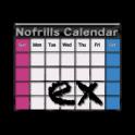 No frills Calendar EX