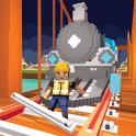 River Railway Bridge Construction Train Games 2017
