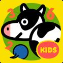 영유아 숫자, 도형, 색깔 놀이 - 동글동글 동물친구