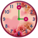 Flowers Clock Widgets