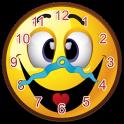 Smiley Widget Horloge