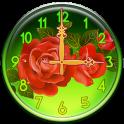 Roses Clock Widget