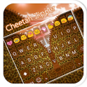 Cheetah Zipper Emoji Keyboard