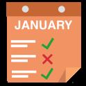 Monatliche Aufgabe Tracker