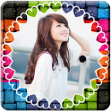 Colorful Photo Frame Collage