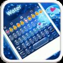 Water Emoji Keyboard Theme