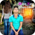 Miss You Photo Editor