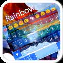 Rainbow Flag Emoji Keyboard theme for Gay pride